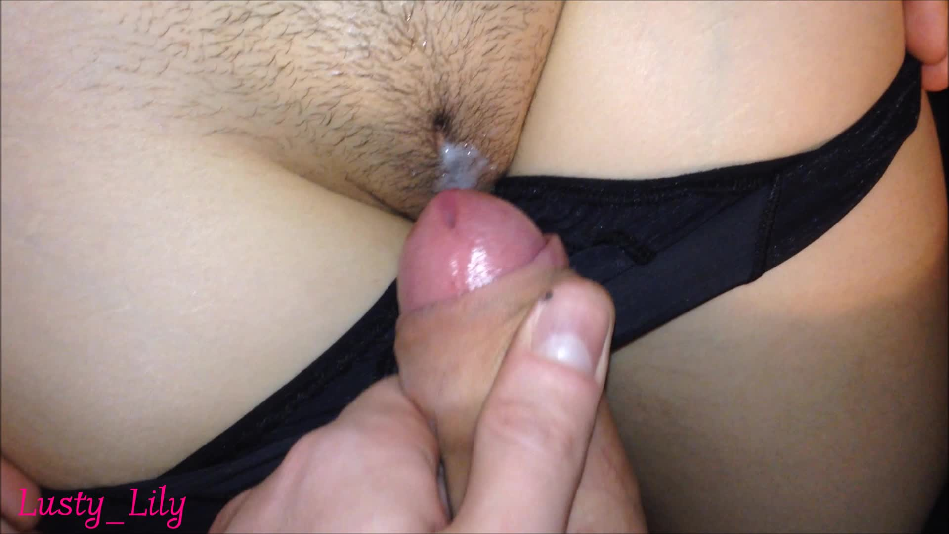 Cum over her panties closeup videos #15